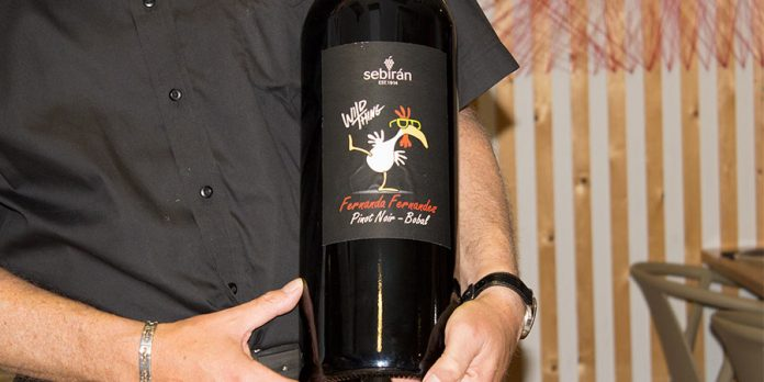 Fernanda Fernandes, Un vino con muchísimo estilo de Bodegas Sebirán
