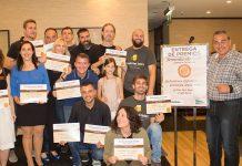 Entrega de los premios Lúpulo de Oro de las Provincias