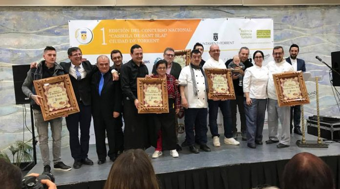 Chef Amadeo, gana el primer Concurso Nacional de la Cassola de Sant Blai